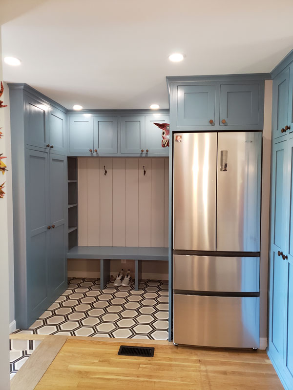 out of the box mudroom