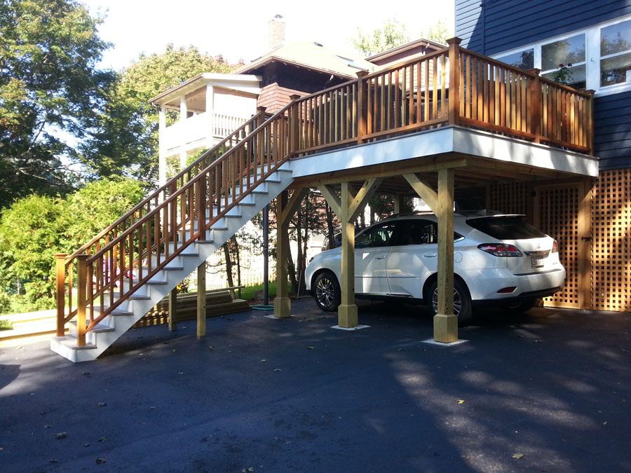 Deck - Carport