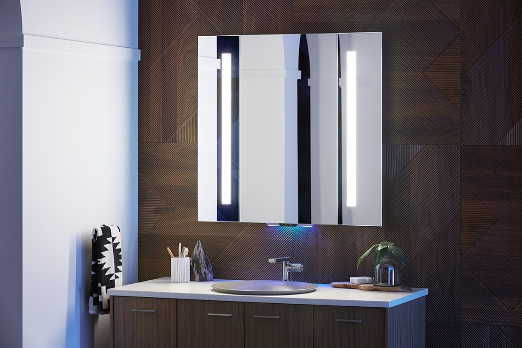 The Verdera Voice Lighted Mirror