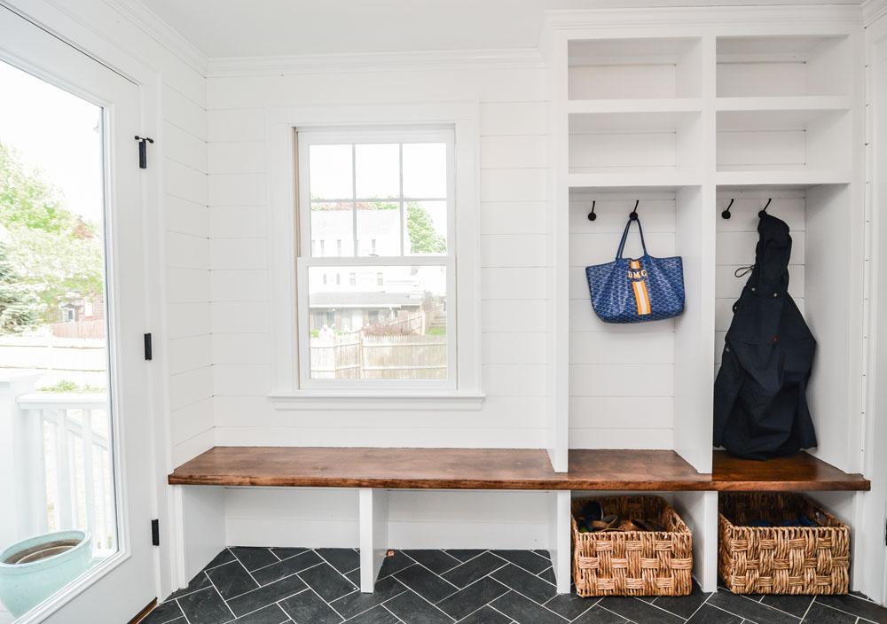 Durable Flooring Mudroom