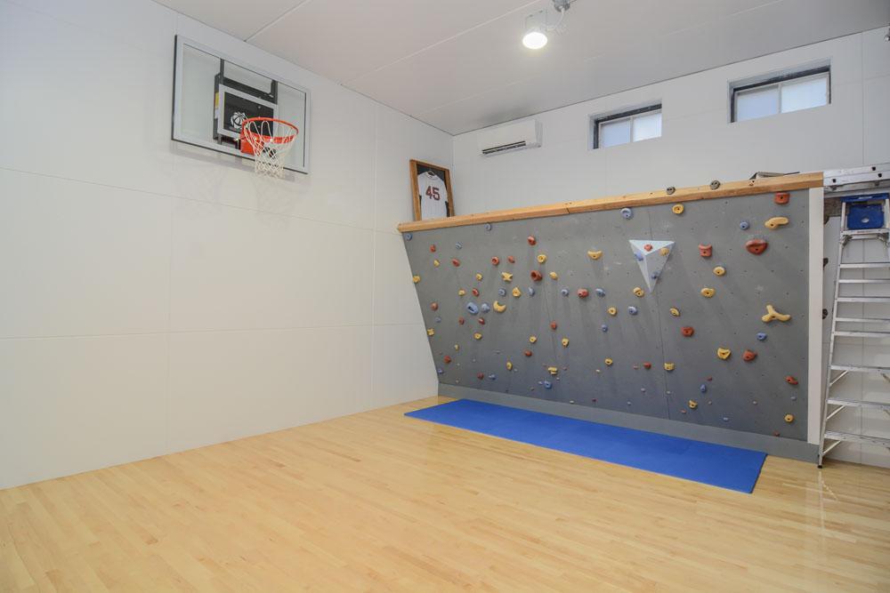 Home Gym basketball