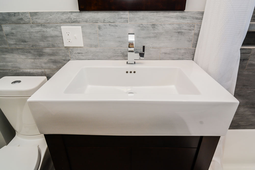 integrated sink is the all-in-one option