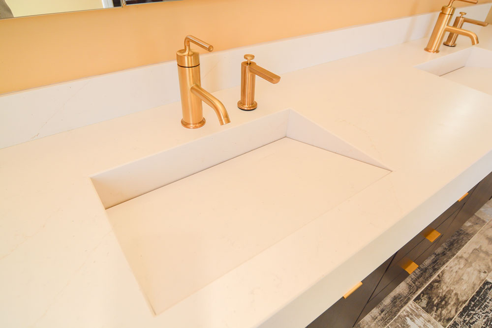 invisible sink drain
