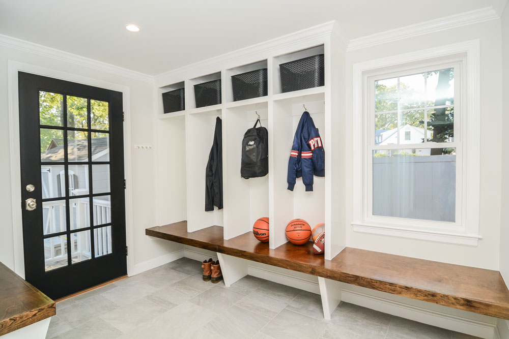 Bench Seating Mudroom
