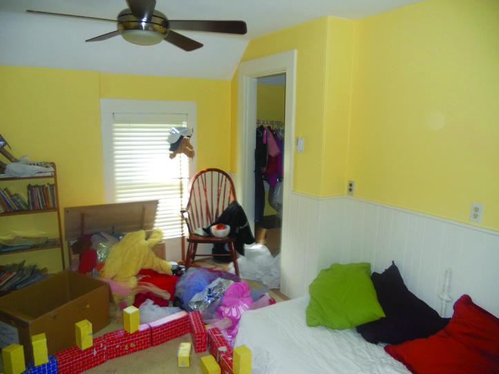 Playroom to bedroom remodel